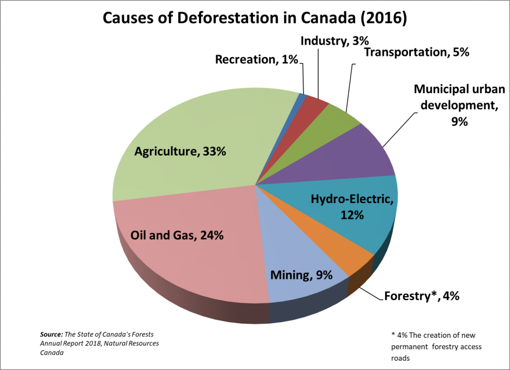 Causes of Deforestation in Canada